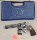 "2020 Colt Python 6"" Stainless .357 Magnum Caliber Revolver NIB S/N PY207265XX - 8 of 8"