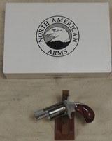 North American Arms 22MS .22 Magnum Caliber Pocket Revolver NIB S/N E433136XX - 1 of 4