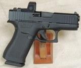 Glock Model G43x Compact .9mm Caliber Pistol w/ Sig Sauer Romeo Zero RMR S/N BRHY670XX