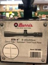 BURRIS XTR II8-40X50mm34mm FFPITEM # 201080 - 2 of 2
