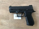 NEW SIG SAUER P320 X-COMPACT 320XC-9-BXR3-R2 /w/ Romeo1 Pro Red Dot - 2 of 8