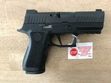 NEW SIG SAUER P320 X-COMPACT 320XC-9-BXR3-R2 /w/ Romeo1 Pro Red Dot - 3 of 8