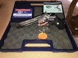 "COLT ANACONDA 6"" STAINLESS, MANUFACTURED 1999, - 1 of 4"