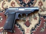Walther model PP with Police Department Munich markingThe gun is