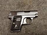 Colt Model 1908 .25 ACP Pistol