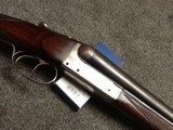 French 16 gauge double shotgun
