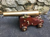 Antique Original Bronze Lavigne and Scott Signal Cannon