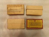 Winchester .30 army ammo 4 old boxes - 2 of 8