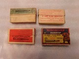 Winchester .30 army ammo 4 old boxes