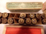 Winchester .30 army ammo 4 old boxes - 8 of 8