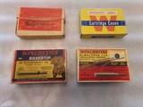 Winchester 1 lot of 4 boxes vintage 30 Govt 06 cartridges