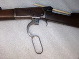 Winchester 1892 rifle and vintage ammo - 11 of 12