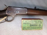 Winchester 1892 rifle and vintage ammo - 3 of 12