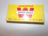 Winchester 348 Super Speed Silvertip